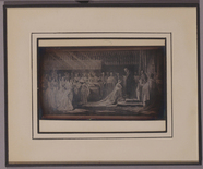 Visualizza Image of an artwork depicting Queen Victoria … anteprime su