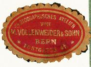 Visualizza Etikett von M. Vollenweider & Sohn anteprime su