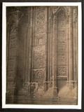 Visualizza Detail of Gothic carving with individual scen… anteprime su