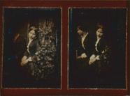 Visualizza Porträt einer unbekannten Dame mit Spiegel anteprime su