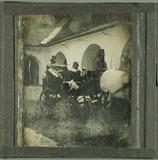 Visualizza Beleibte Dame in einer Kutsche, um 1844; fehl… anteprime su