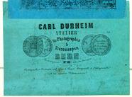 Visualizza Etikett von Carl Durheim anteprime su
