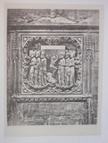 Thumbnail preview of Image of a Gothic, low relief carving showing…