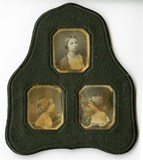 Miniaturansicht Vorschau von Frame containg portraits of three sisters. Th…