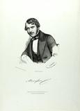 Prévisualisation de Brustbild eines Mannes mit Schnurrbart, seitl… imagettes
