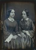 Thumbnail preview of Doppelporträt zweier junger Damen