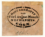 Thumbnail preview of Fotografenstempel von Carl August Mauch