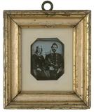 Thumbnail preview of Bildnis August Fr. S. und seiner Frau Agnes S…