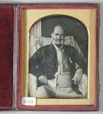Visualizza Portrait of an elderly man, three quarters le… anteprime su