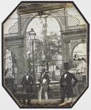 """Visualizza Drei Herren im Garten des """"Palais de l'Indust… anteprime su"""