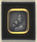 Thumbnail af Portrait of Bertha Weis and her son Holger We…