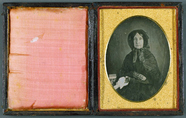 Thumbnail preview van Frau in Trauer, USA, ca. 1846.