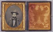 Visualizza Bildnis eines Mannes mit Zigarillo und Hut au… anteprime su