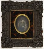 Thumbnail preview of Post mortem portrait of a young child (girl)