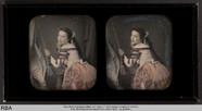 Visualizza Frau einen Klingelzug betätigend anteprime su