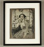 Thumbnail preview van Bildnis einer Dame in sommerlichem Kleid, 184…