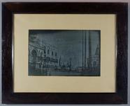 Visualizza A view in Venice of the Piazetta di S.Marco. … anteprime su
