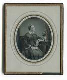 Visualizza Dreiviertelporträt der Baronin von Ihloff aus… anteprime su