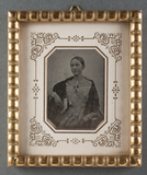 Thumbnail preview of Portrait of unknown young woman.