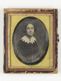 Thumbnail preview of portrait of   a woman inscription homes broad…