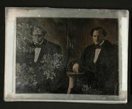 Miniaturansicht Vorschau von Herrenporträt, um 1850.