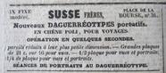 """Miniaturansicht Vorschau von Advertisement in """"Journal de Toulouse"""" beginn…"""
