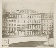 Visualizza Die Ferdinandsbrücke in Wien, 1840. Druck von… anteprime su