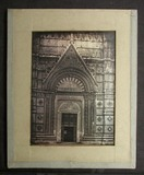 Visualizza View of the baptistery in Siena showing the i… anteprime su