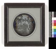 Visualizza Gruppenporträt mit vier Frauen, einem Mann un… anteprime su