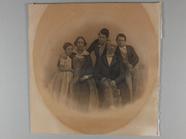 Visualizza Familienportrait mit fünf Personen, Eltern un… anteprime su