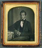 Visualizza Mann mit Kotletten, USA, ca. 1848. anteprime su