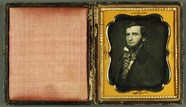 Prévisualisation de Mann mit vernarbtem Auge, USA, ca. 1847. imagettes