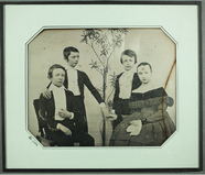 Visualizza Kindergruppe, Geschwister, um 1841 anteprime su