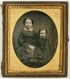 Visualizza Porträt eines Geschwisterpaares, eines Mädche… anteprime su