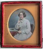 Thumbnail preview van Half length portrait of a young woman (Kather…