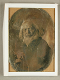 Thumbnail preview of Bärtiger Alter, Halbfigur, um 1850