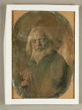 Visualizza Bärtiger Alter, Halbfigur, um 1850 anteprime su