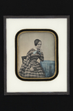 Visualizza Portrait of a young lady, sitting in a chair … anteprime su