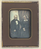 Thumbnail preview of Double portrait of unidentified couple