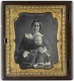 Visualizza Portret van een jonge vrouw met kind anteprime su