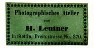 Thumbnail af Etikett von H. Leutner