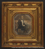 Visualizza Portrait d'un Homme (musicien à la clarinette… anteprime su