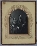 Visualizza Portrait of two sisters, Josephine and Consta… anteprime su