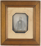 Thumbnail preview of Portrait of Jean Aglibert Borgnon holding som…