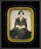 Visualizza Portrait de jeune fille, à mi-jambes, assise,… anteprime su