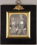 Miniaturansicht Vorschau von Bildnis eines Ehepaares, die Hände haltend.