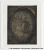 Thumbnail preview of Portrait de Jules Columbia et de sa fille Mar…
