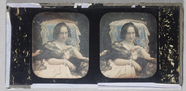 Visualizza Hand coloured stereo plate, known in the coll… anteprime su