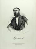 Prévisualisation de Hüftbild eines Mannes mit Vollbart und glatte… imagettes