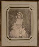 Visualizza Frau Kabisch mit ihrem Sohn Gustav (geb. 1849… anteprime su